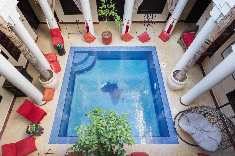 Riad Africa - Main Pool & Atrium (7)