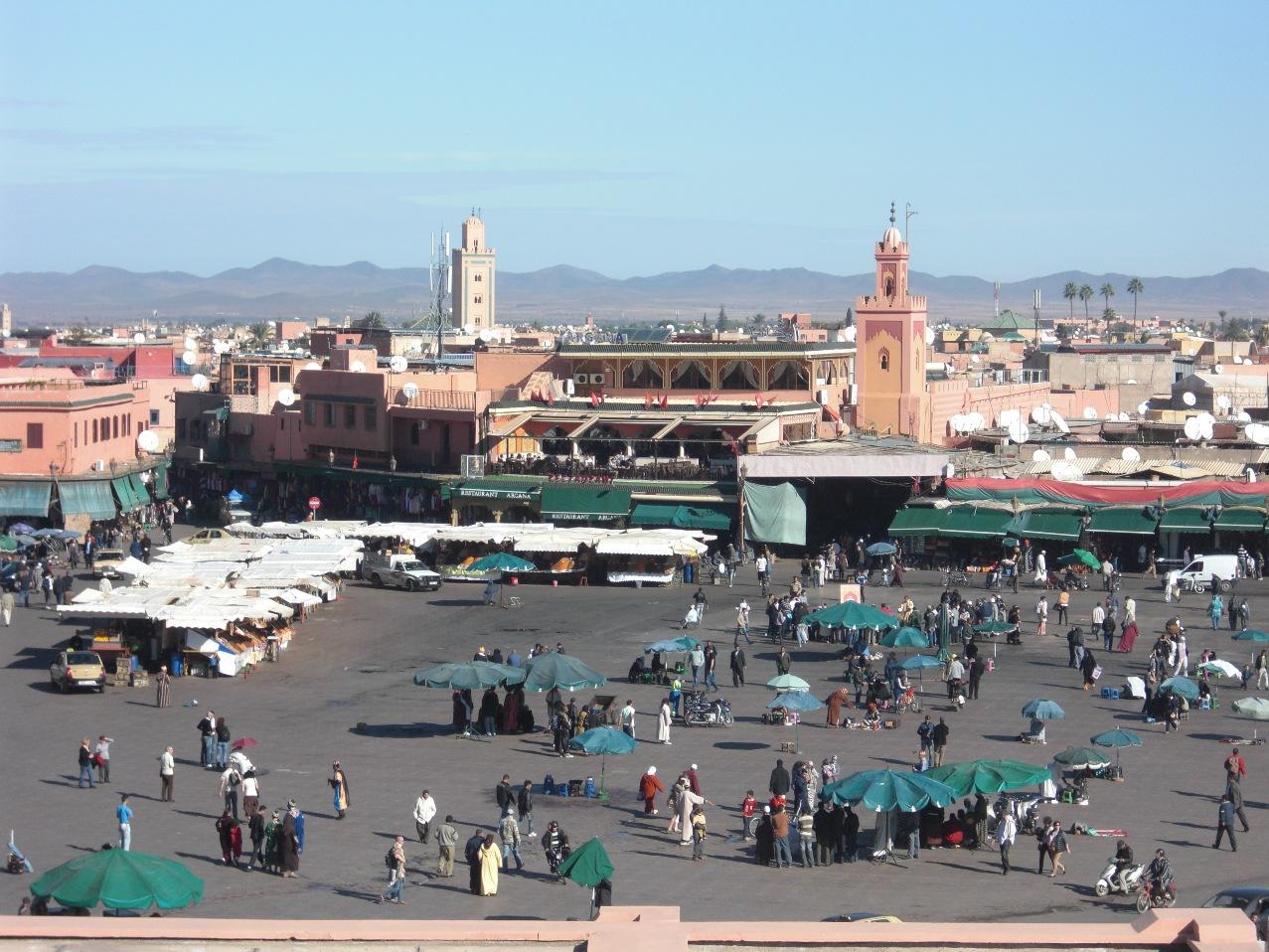 Marrakech - Djemaa el Fna