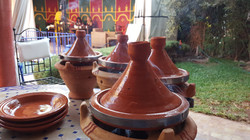 Cooking tagines the traditional way