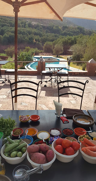 Our High Atlas cooking classes take plac