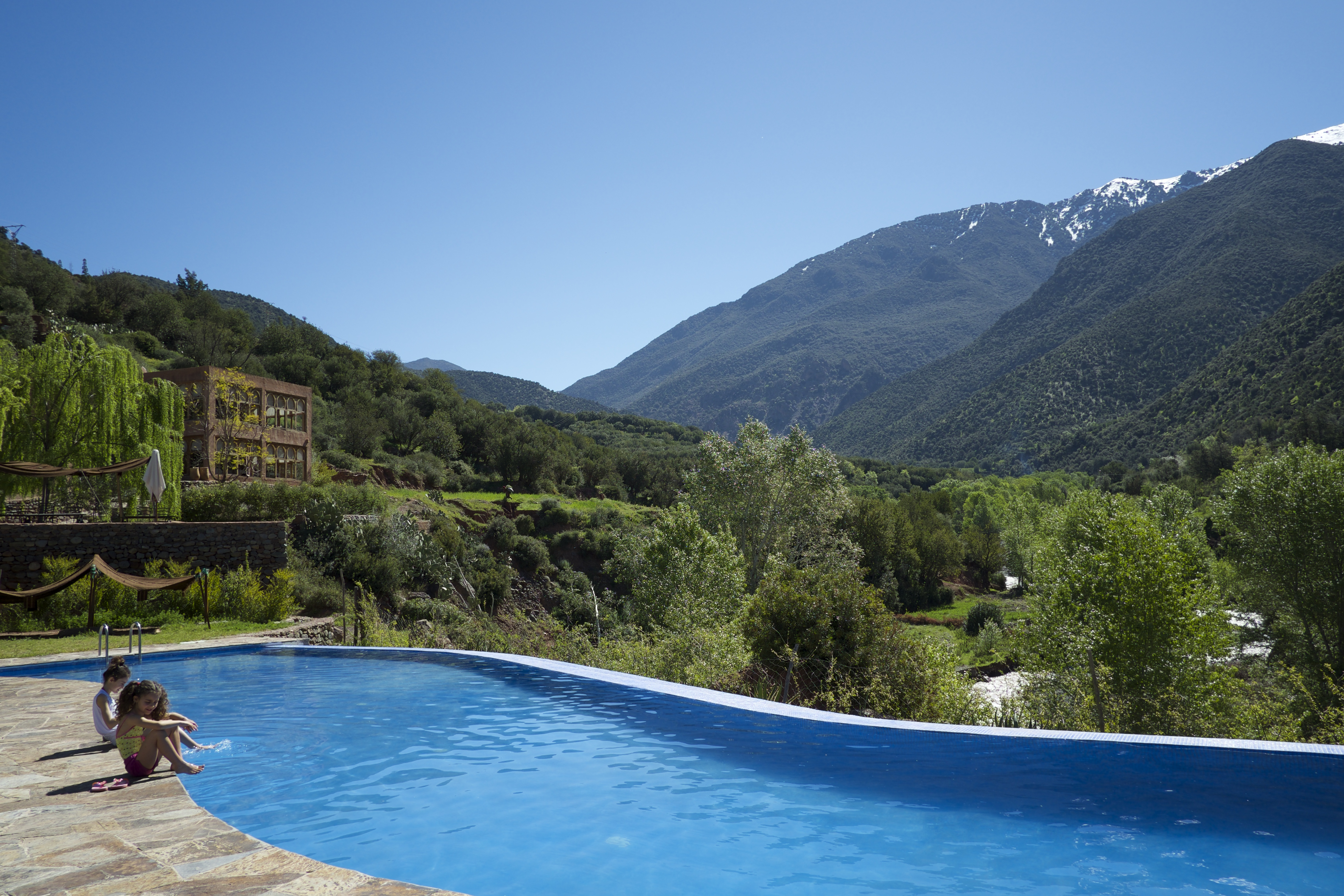 Kasbah Africa's Pool With A View