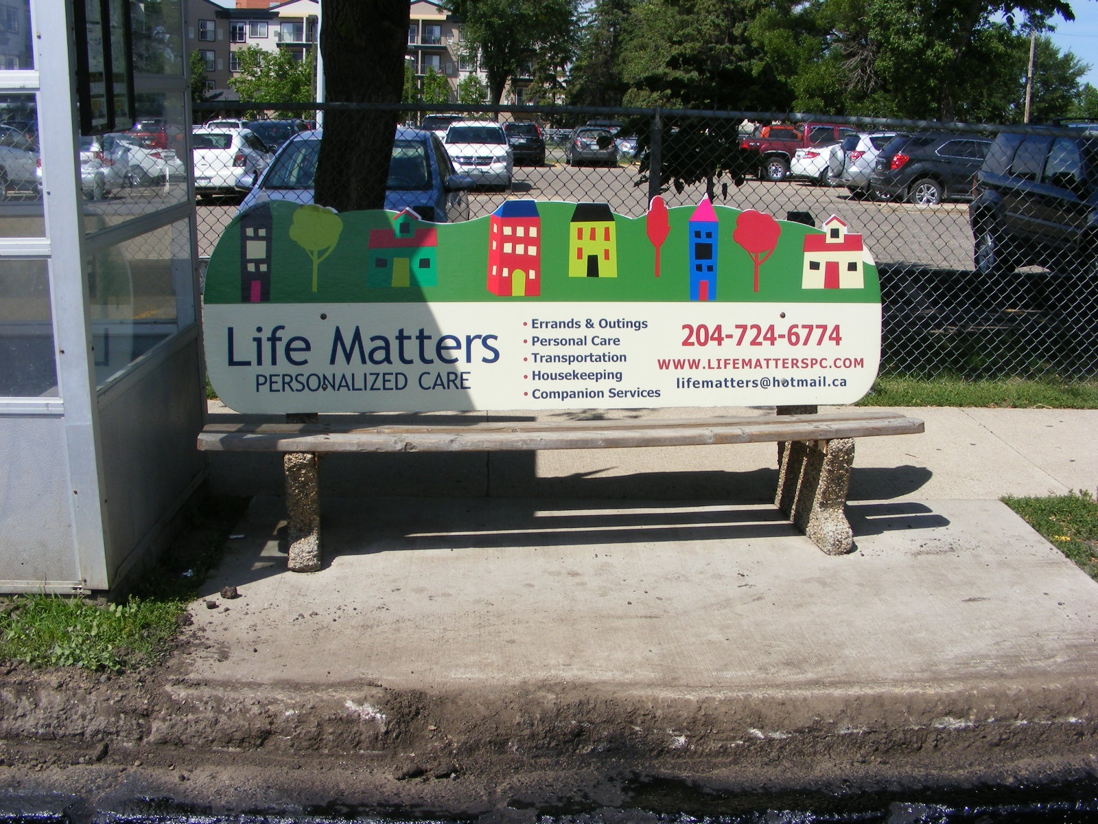 Life Matters Bench