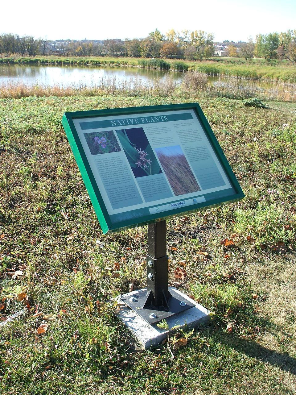 Interpretive Trail Signs