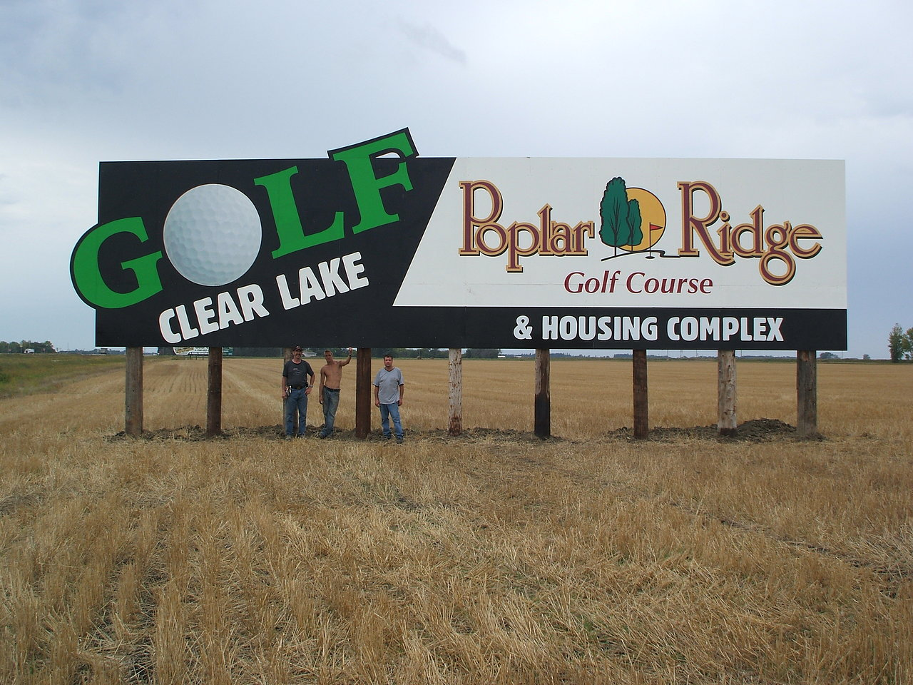 Poplar Ridge billboard