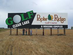 Poplar Ridge billboard