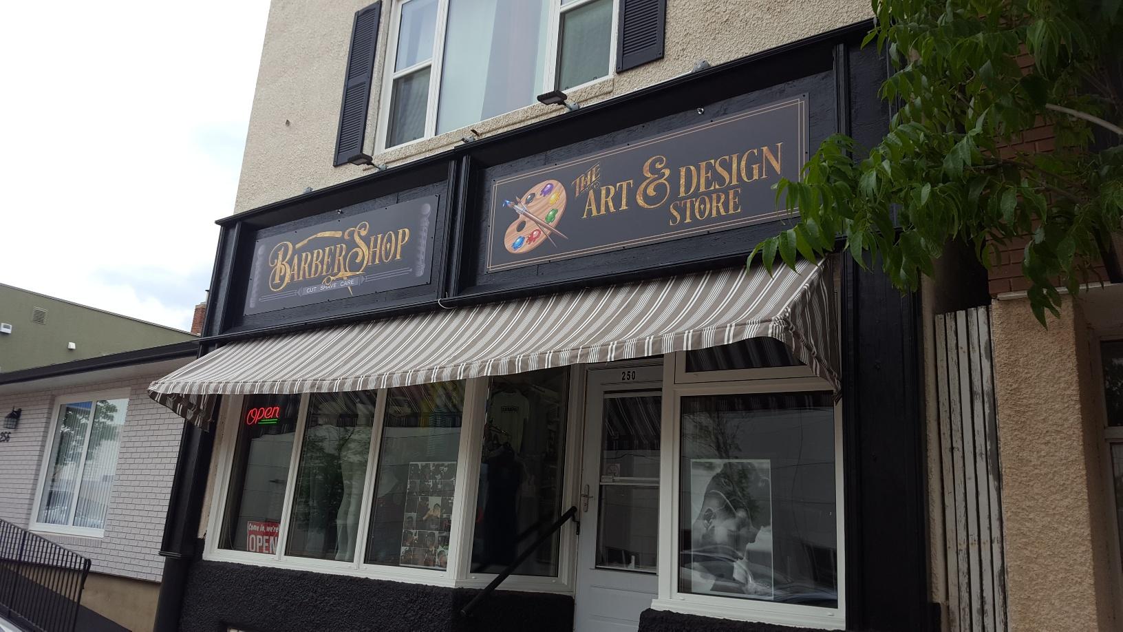 Barber Shop Art Store