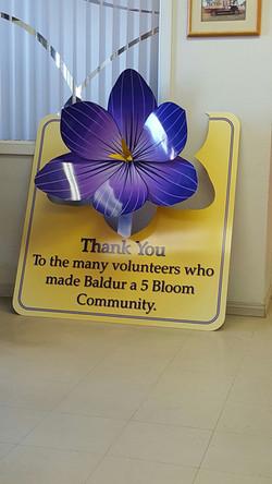 Baldur CIB sign