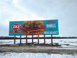 DQ hwy sign