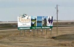 elkhorn hwy sign