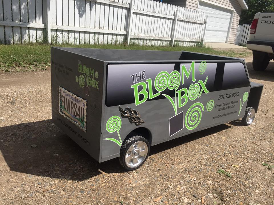 Bloom Box Soap Box Car