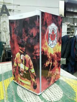 firefighter+fridge