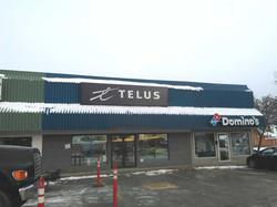 telus push thru sign