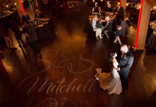 Monogram Mitchell Wedding