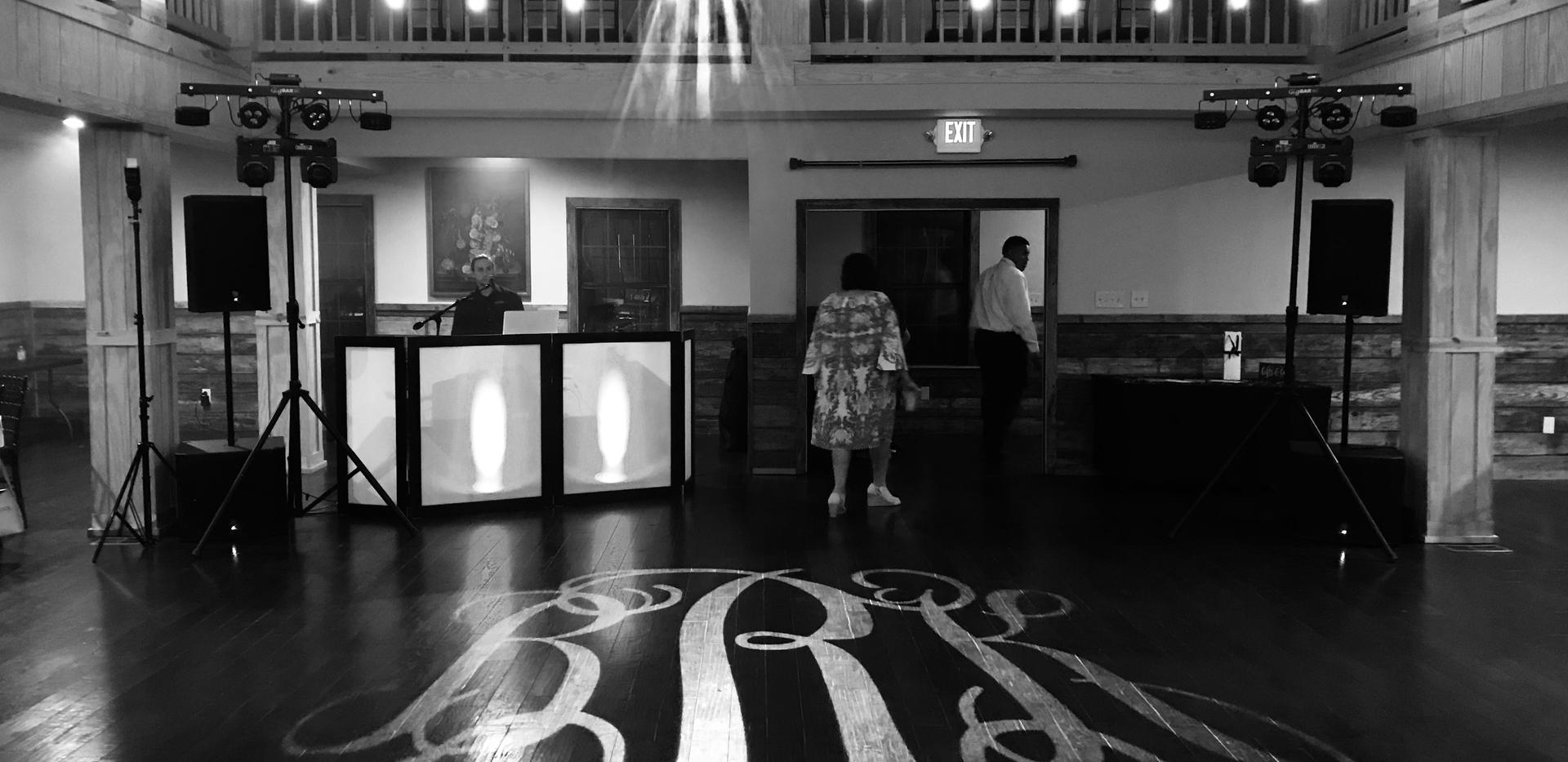 Monogram Lighting Dancefloor