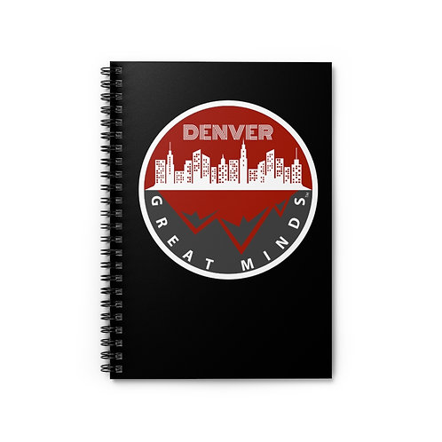 DGM V2 Spiral Notebook - Ruled Line