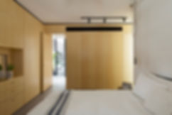 modern home design wood veneer paneling and cabinet built in malaysia