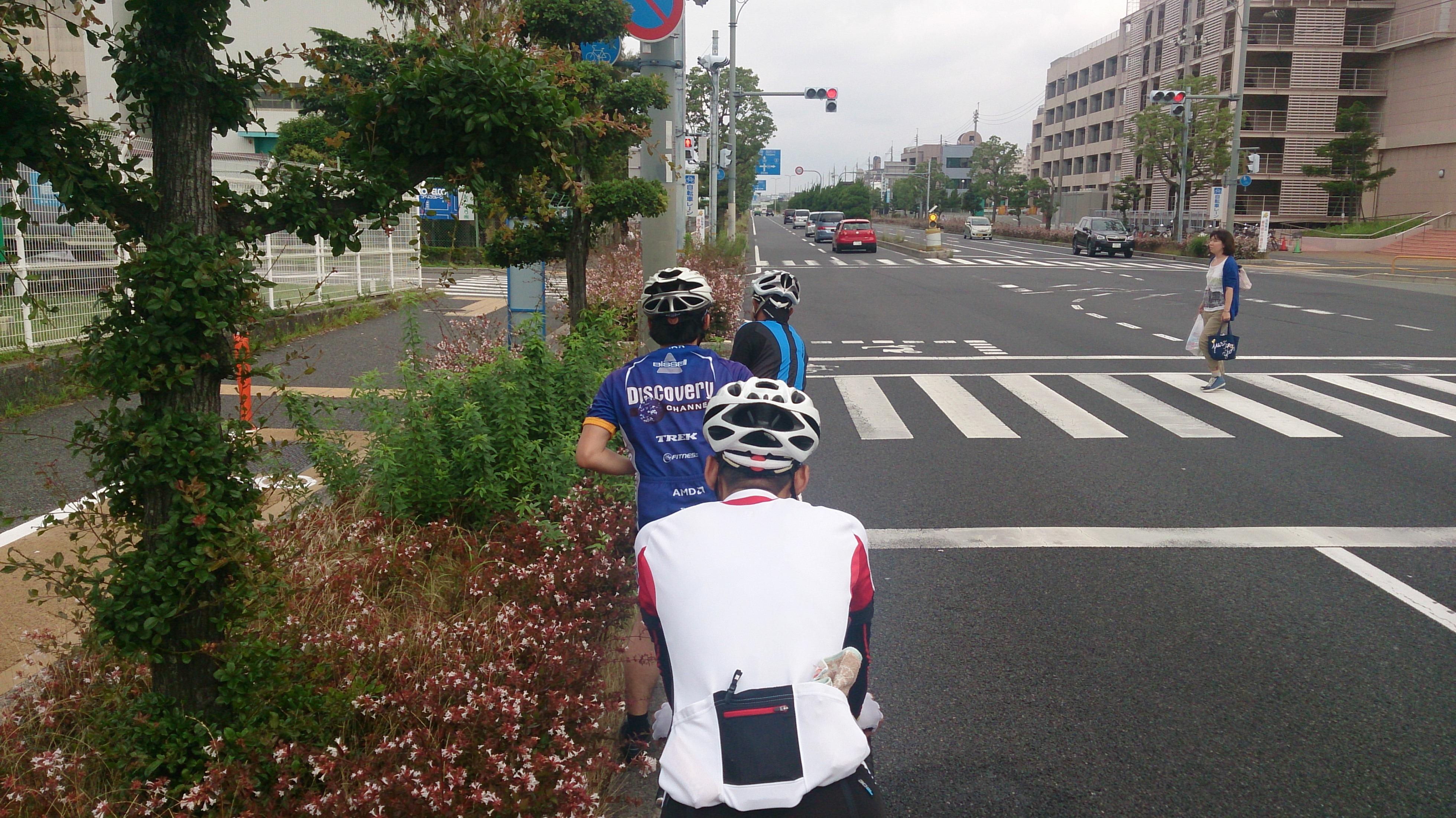 グループライド ロードバイク 明石