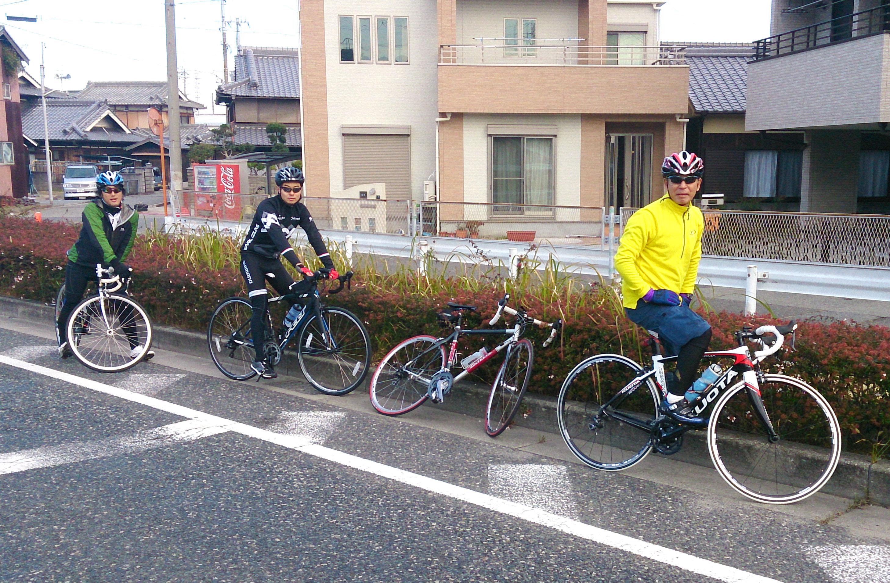 トライアスロン トレーニング ロードバイク 明石