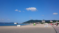須磨海岸(夏季)
