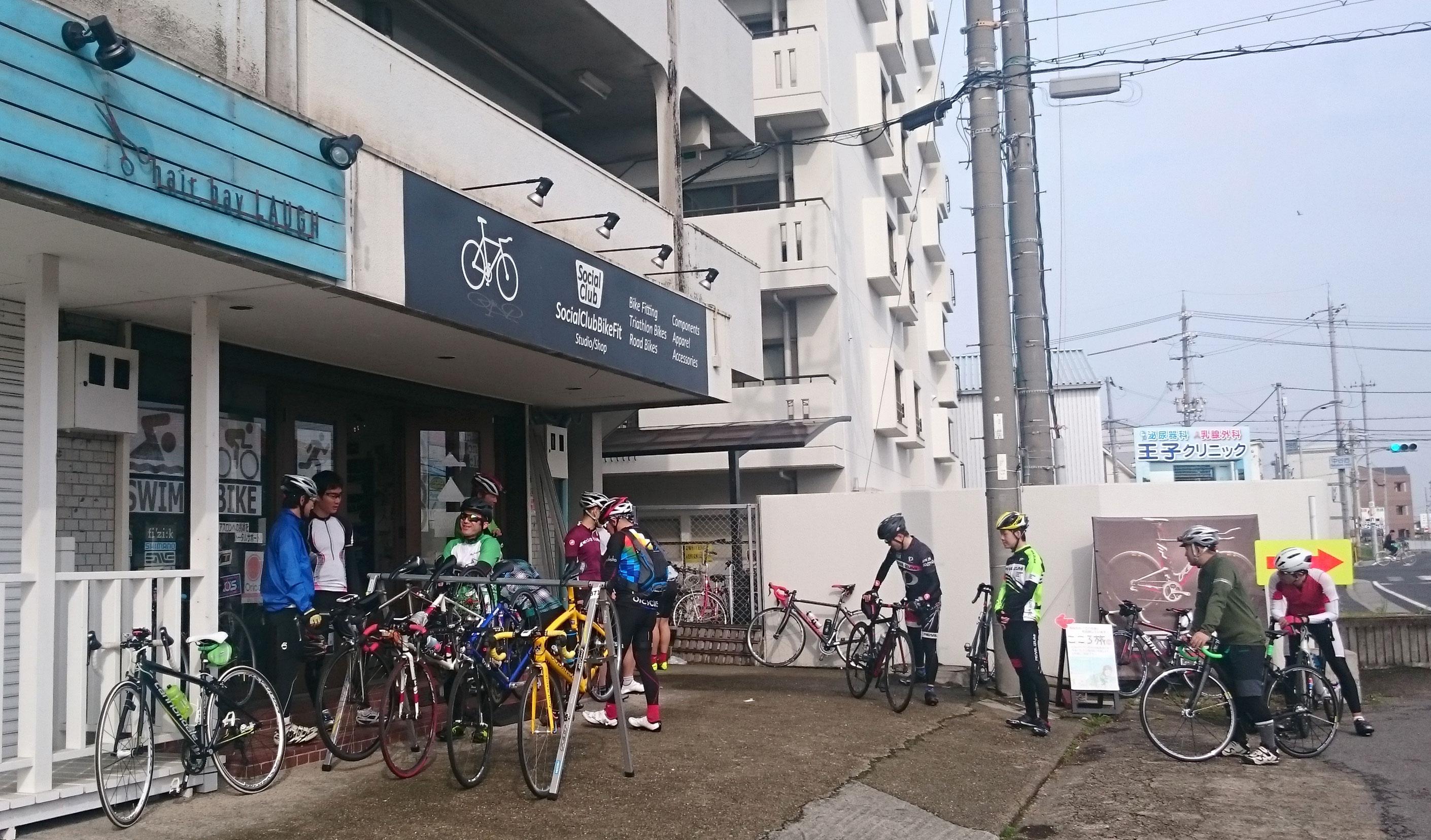 明石 ロードバイク サイクリング