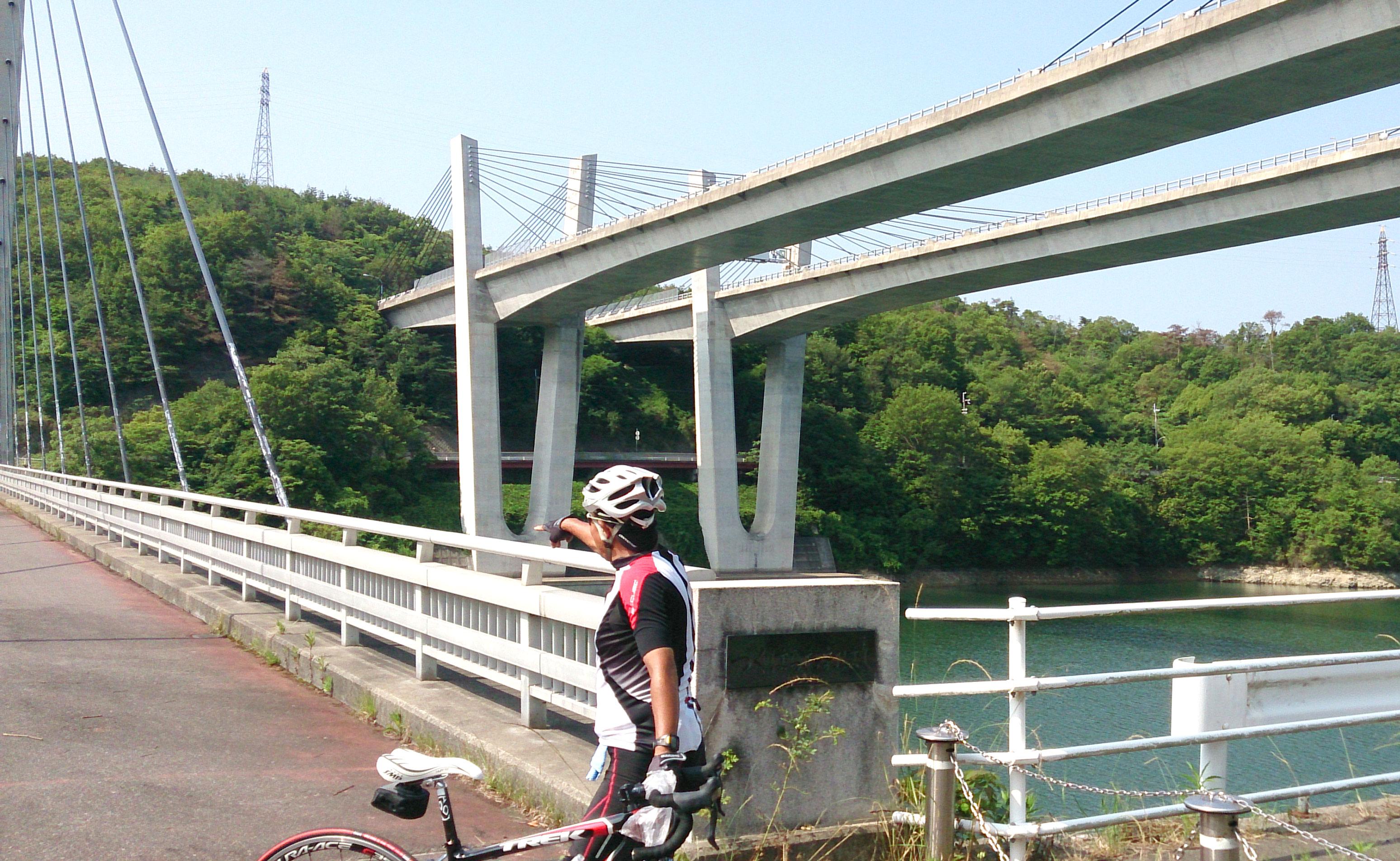 ロードバイク つくはら湖 ツーリング
