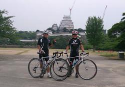 姫路城ツーリング ロードバイク