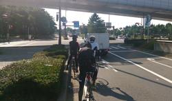 朝霧 ロードバイク 明石