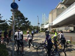 舞子 明石大橋 サイクリング