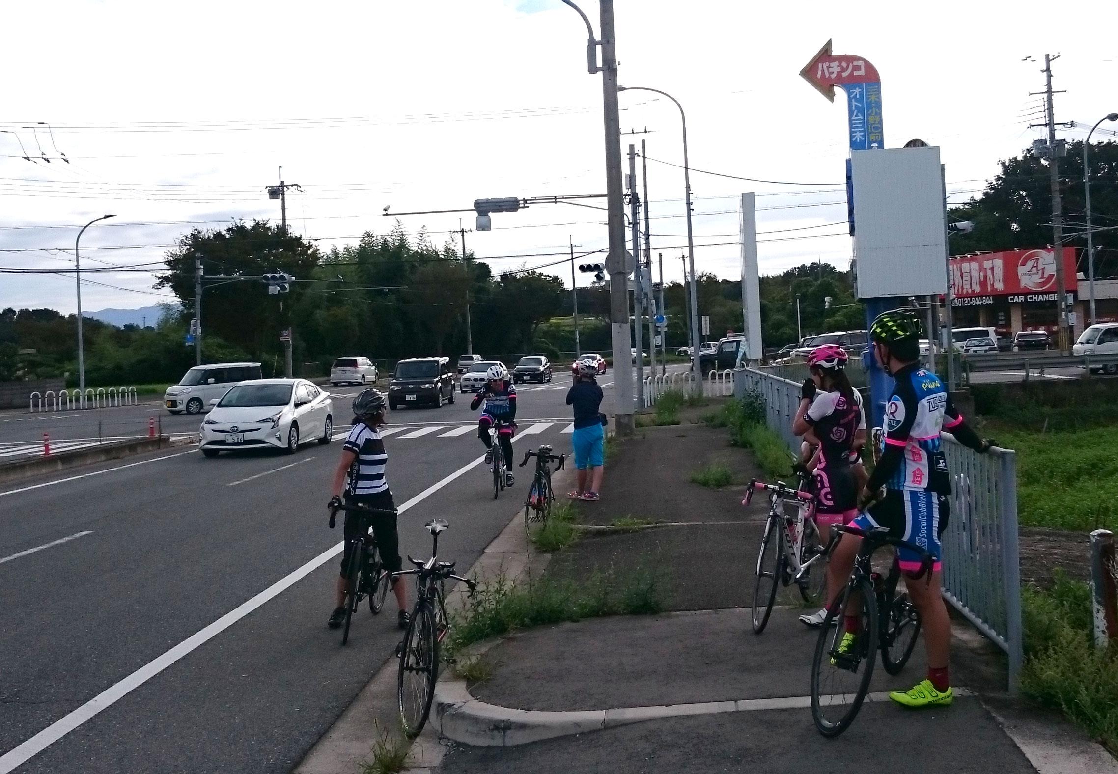 明石 神戸 ロードバイク