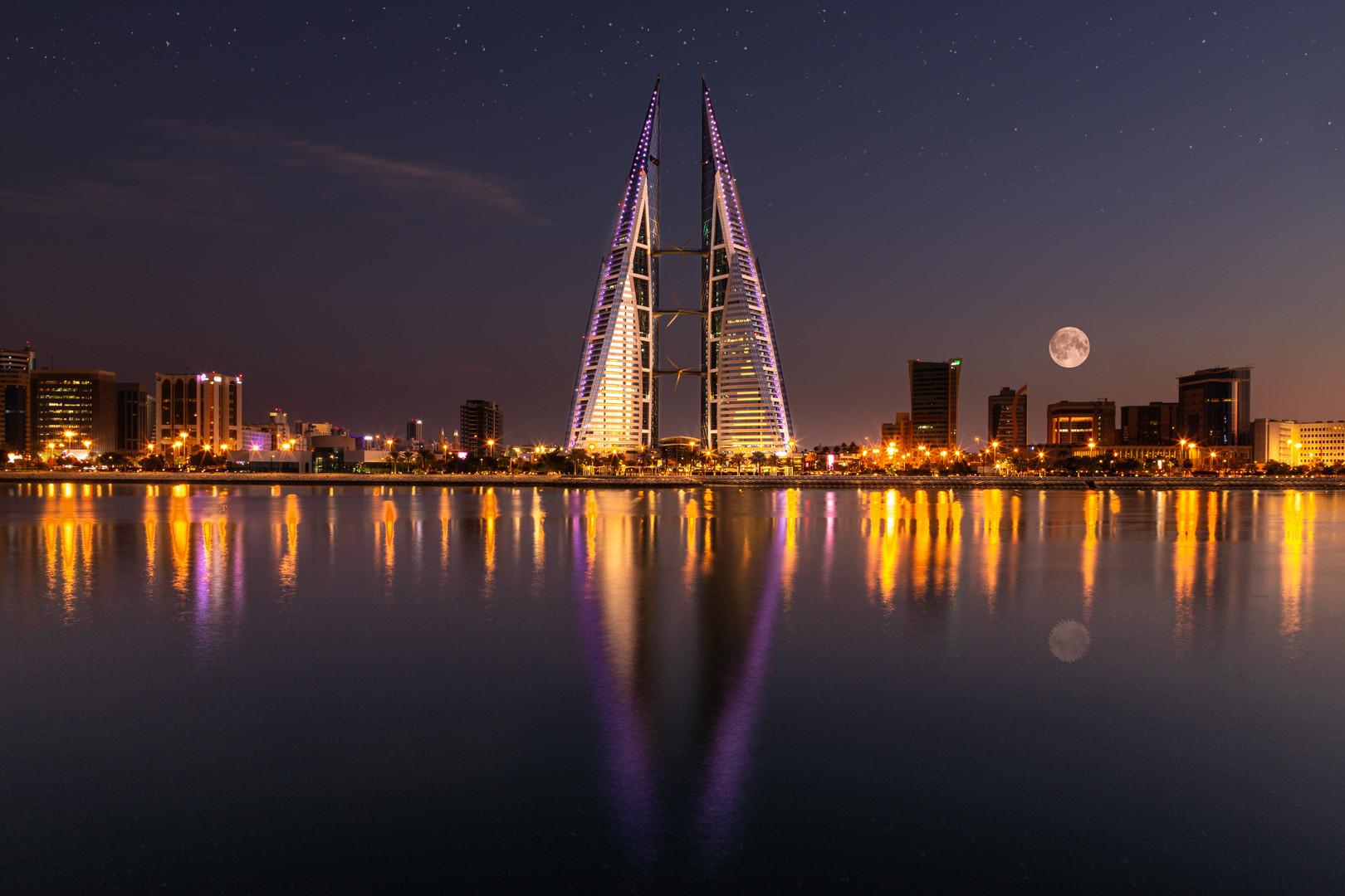 Bahrain WTC Night Shot Competition winne