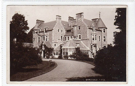 Photograph of Baronald House circa 1906