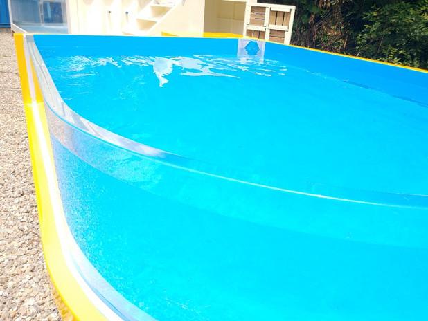 라운드형 수영장 (유아용)