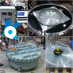 Acrylic viewport Pressure Test