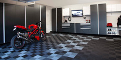 Basalt Cabinets Angle with Motorcycle Oc