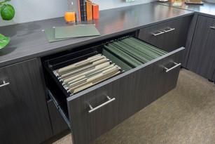 Licorice Office File Drawer-Flat Panel-J