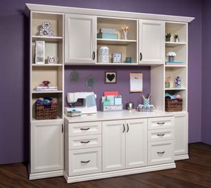 Antique White Allegra Craft Room May 201