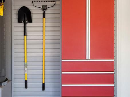 Slat Walls - Garage Organization