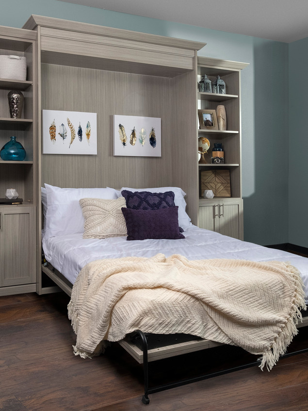 Concrete Shaker Wall Bed Angle June 2017