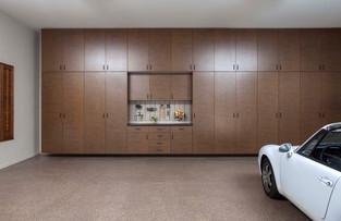 Bronze Extra Tall Cabinets - Inset Ebony