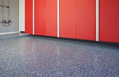 Blue Ice Floor w Red Cabinets.jpg