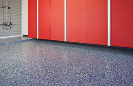 Blue Ice Floor w Red Cabinets.jpg