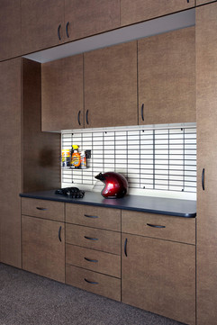 Bronze Cabinets with Inset Ebony Star Wo