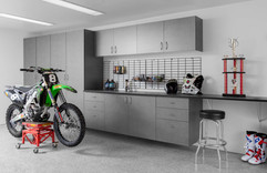 Pewter Cabinets-Ebony Star Workbench-Sil