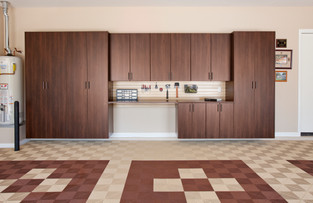 Coco Garage Cabinets with Workbench-Swis