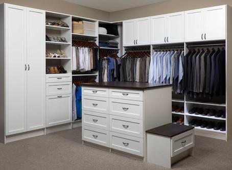 Why use a closet organization system?