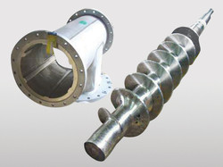 Pressure Housing and Discharge Screw