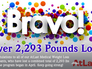 AtLast Medical Weight Loss Participants are Experiencing Success!