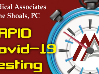Rapid Covid-19 Testing Available