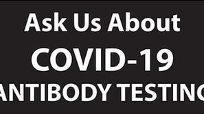 Antibody Testing Available