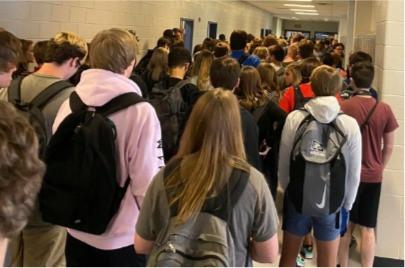 Students at North Paulding High School
